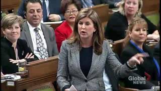 Rona Ambrose Attacks Trudeau Over Question Period Attendance Suggestion