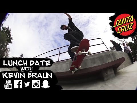Kevin Braun talks burritos, beers and switch flips in this episode of Lunch Date