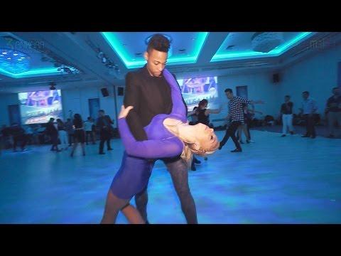 Gaby & Estefy Social Salsa Video | AIDC-2015