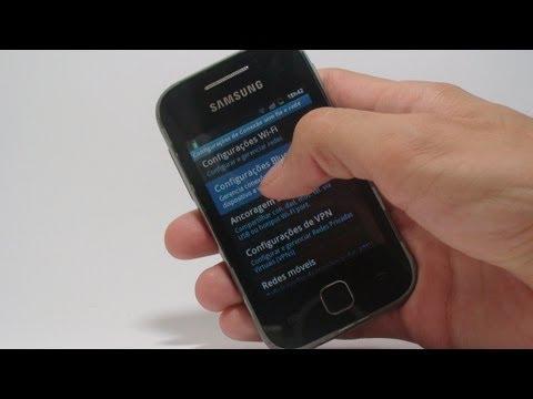 Como usar seu Android como Modem - Galaxy Y