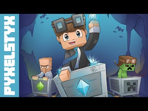 Minecraft SpeedART - TheDiamondMinecart