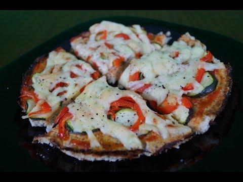 Kings Meal - Пицца из цветной капусты без муки  (Вегетарианские рецепты из Цветной капусты) Часть 3