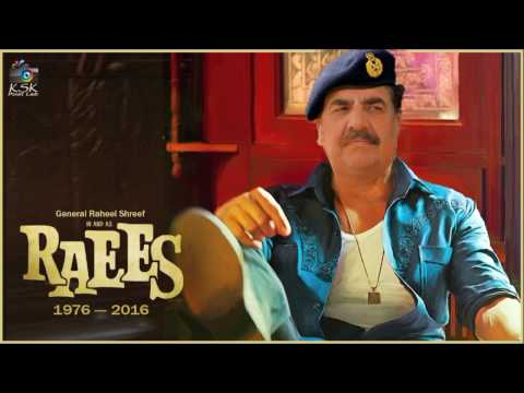 Gen. Raheel in & as Raees | Raees Trailer | Raheel Shreef vs Modi thumbnail