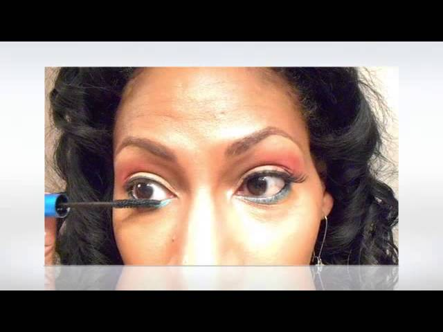 Keyshia Cole Inspired Summer Look/How to apply lashes