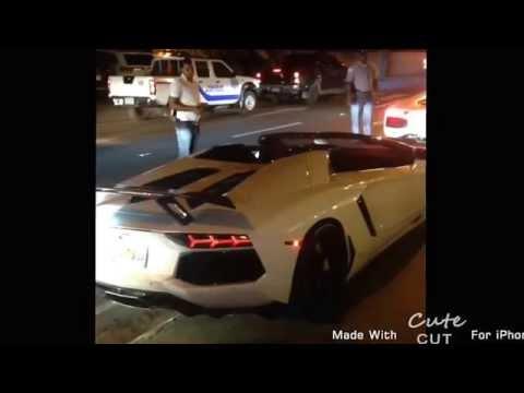 David Ortiz & Hanley Ramirez en Lamborghini Aventador - RD