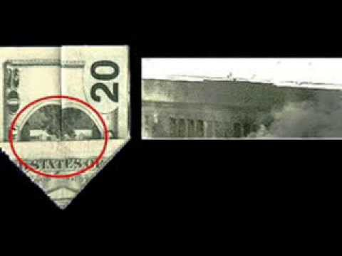 Creepy! U.S  Dollar bills (5, 20,50,100) contains hidden pictures!