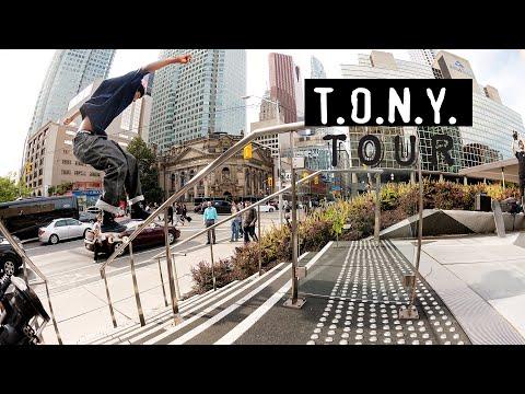 """T.O.N.Y."" Tour | Chocolate Skateboards"
