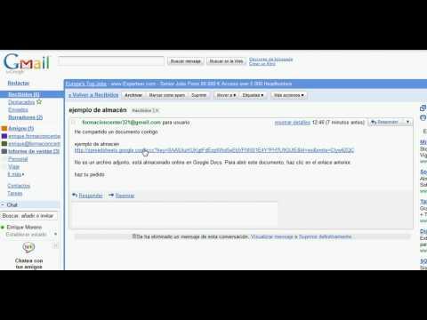 Como utilizar Google Doc. Compartir documentos en Google Docs