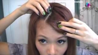 Làm đẹp tóc mái của bạn