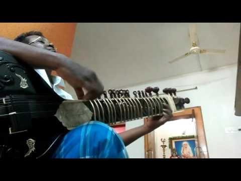 Sitar,Raag Kirwani,Fast Taans,Teen Taal,by Nanganallur Jagath Eesan,chennai
