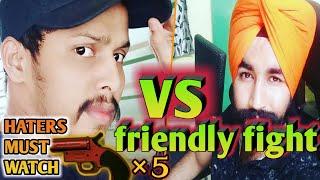 GTX Preet Vs kronten | friendly fight bahot ho gae controversy | love like kronten and paji