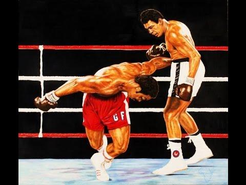 Мировой Бокс. Мохаммед Али - Джордж Форман.