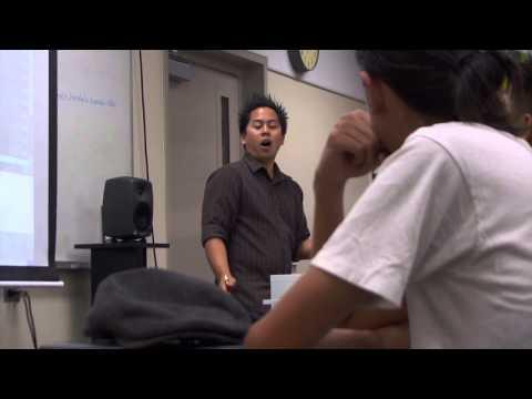 Honolulu Community College MELE program PSA