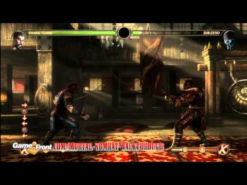 Mortal Kombat Walkthrough - Kombatant Strategy Guide - Shang Tsung