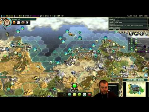 Civilization 5 Multiplayer 133: Shoshone [4/4] ( BNW 6 Player Free For All) Gameplay/Commentary