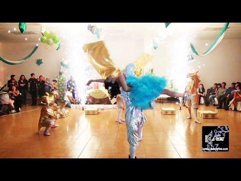 XV Años Michelle Vals Alegría Salón de Fiestas en Cd. Nezahualcóyotl Foto y Video Zon Caribe