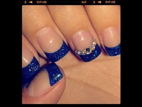 Diseño de uñas cortas 2014 :D