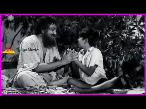 Ramu Telugu Movie Emotional Scene - Ntr , Jamuna , Pushpalatha video