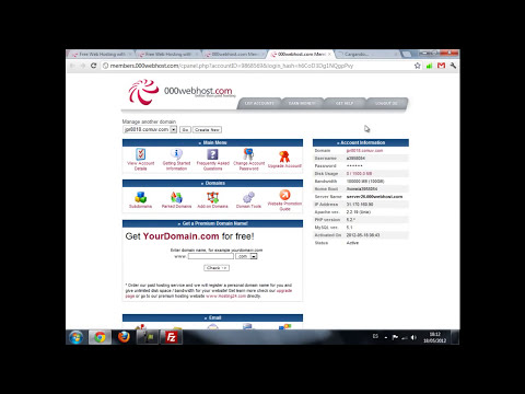 Como subir tu pagina web a internet