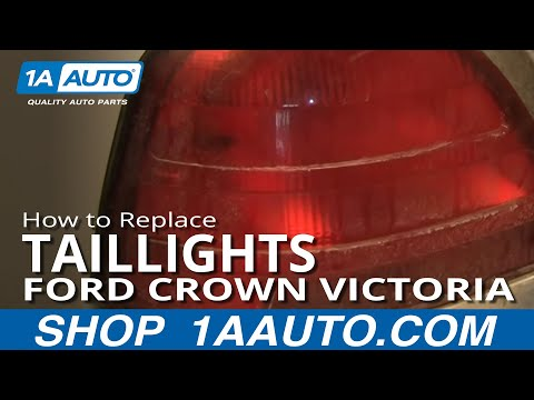 How To Install Replace Taillight Ford Crown Victoria 99-05 1AAuto.com