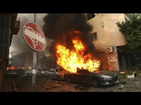 Footage shows Beirut blast devastation