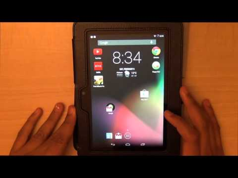 kindle fire hd 7 running android 4.4.2 kitkat