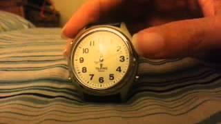 Talking Atomic Watch Hand Reset Procedure