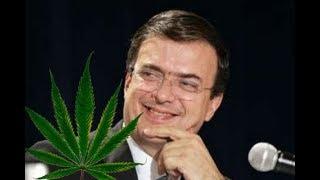 Marcelo Ebrard y Justin Trudeau hablaron del proceso de CanadГ para legalizar la mariguana