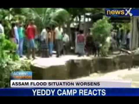 NewsX: Assam flood situation worsens