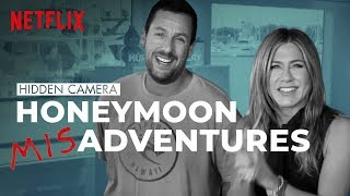 Adam Sandler & Jennifer Aniston Help Husband Prank His Wife | Murder Mystery | Netflix