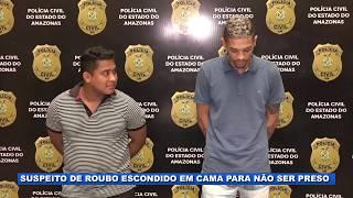 Lágrima caiu: Polícia prende suspeito de roubo conhecido como Lágrima.