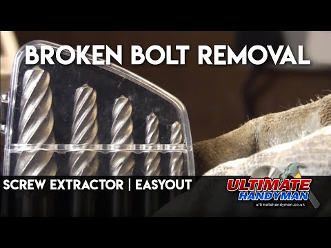Screw extractor   easyout   broken bolt removal