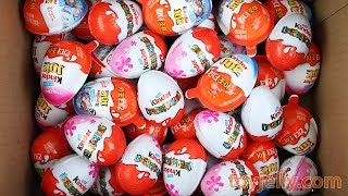 New Kinder Surprise Eggs Kinder Joy For Boys & Girls Unboxing Toys Learn Colors Baby Songs for Kids