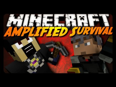 Minecraft: AMPLIFIED Survival Ep. 5 THIS TWO SHALL PASS