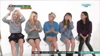 Spica in Weekly Idol Part 1/2 [CC: ENG SUBS]