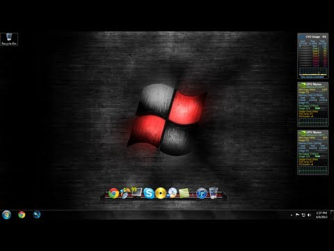 Windows 7 Desktop Customization Part 1