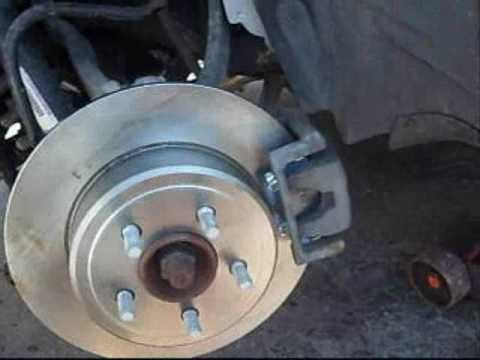 2006 2013 Dodge Charger Rear Brake Pad & Rotor Install