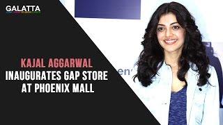 Kajal Aggarwal inaugurates Gap Store at Phoenix Mall