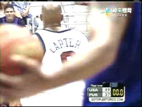 USA vs Puerto Rico T-Mac fights Casiano Video