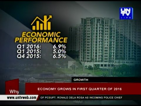 Economy grows in first quarter of 2016