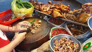 Amazing Cheap Street Food Stalls, Phnom Penh Street Food Market Tour
