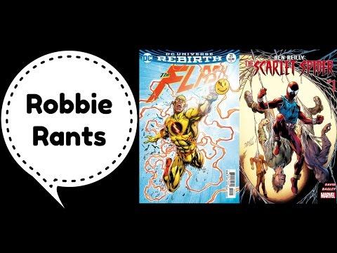 Weekly Comic Book Review 04/26/17 - Robbie Rants #80