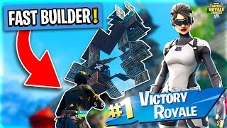 FAST MOBILE BUILDER on iOS /  Fortnite Mobile Tips / Day 7/30 on the Grind