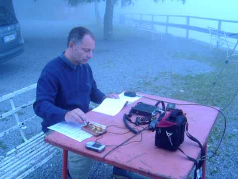 IW2CZG calling CQ in 20 meters ham radio band