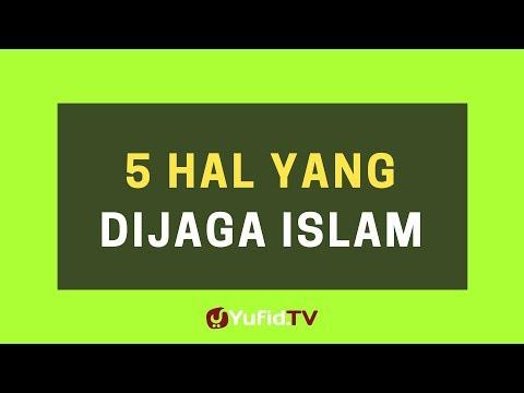 5 Hal yang Dijaga Islam – Poster Dakwah Yufid TV
