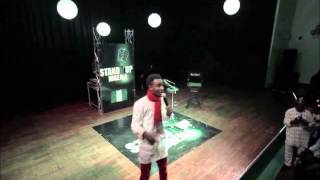 Stand Up Nigeria- COMEDIAN DEEONE thrills Audience