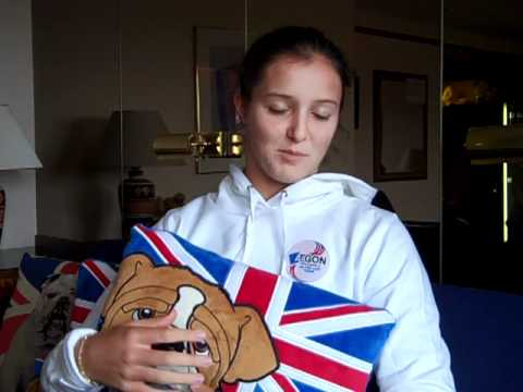 Laura Robson on the Olympics