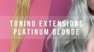 How To Tone Clip In Extensions - LUXURY FOR PRINCESS