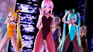【MMD】Tdaバニーモデルで「One・Two・Three」【60fps 1080P】