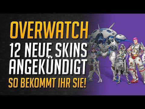 12 NEUE OVERWATCH SKINS ANGEKÜNDIGT   Overwatch League Away Skins All-Access ★ Overwatch Deutsch